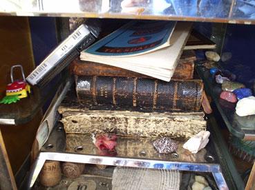 Inside Dr.BoBo's cabinet