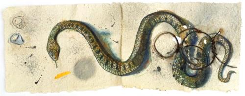 Art work - Snake painting